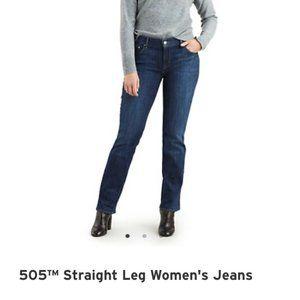 LEVI 505 Straight Jeans Sz 31 (US 12)